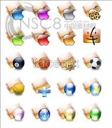Orange Apple folder