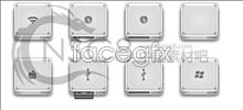 Apple device desktop icons