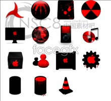 Apple iMac icons