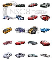 Super car icons