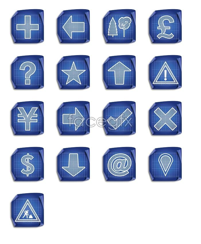 Download desktop icon grid symbols