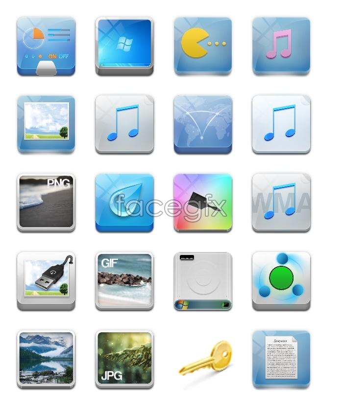 Fresh mobile desktop icon
