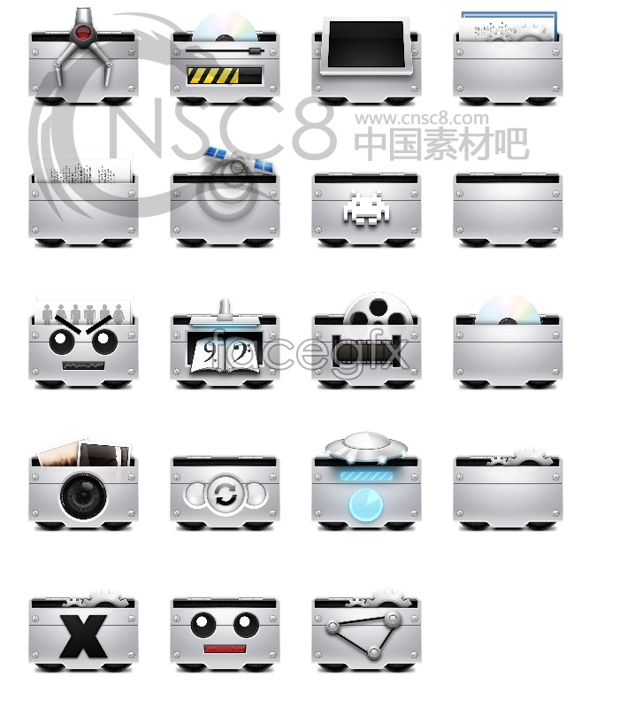 Future computer desktop icons
