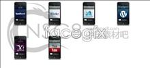 IPhone desktop icons