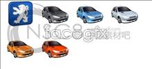 Peugeot new car icons