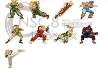 Street Fighter game icons