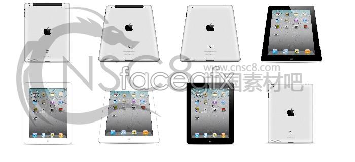 Apple iPad computer icons
