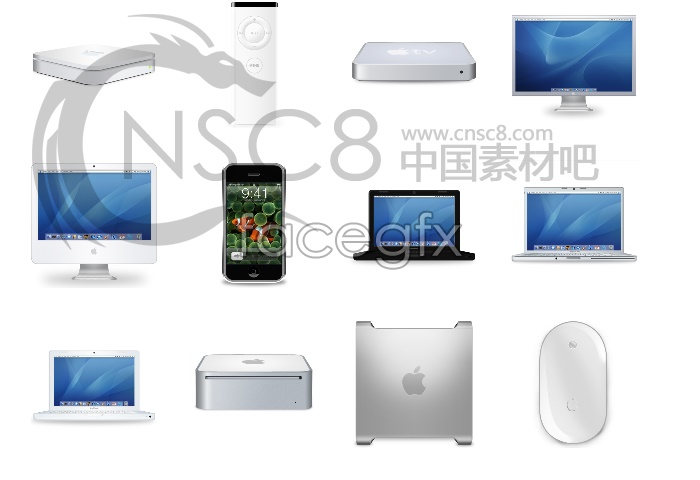 Apple Macintosh desktop icons