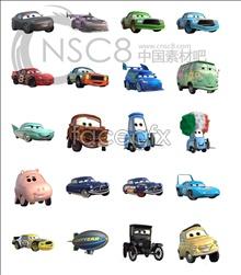 CARS movie icons