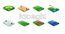 Sport Stadium computer icons