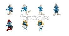 The Smurfs movie icons