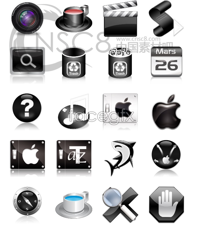 Apple Apple icons