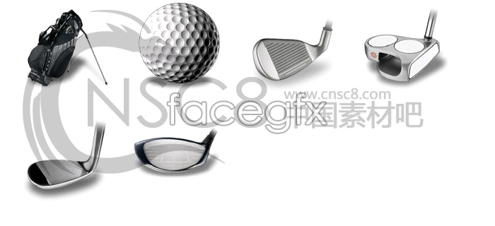 Beautiful golf icon