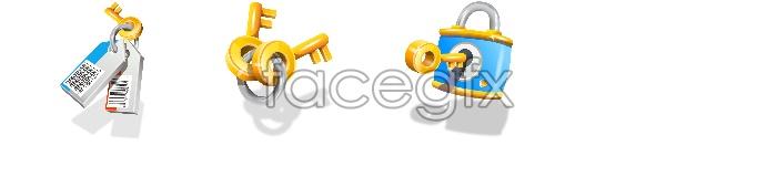Beautiful key desktop icon