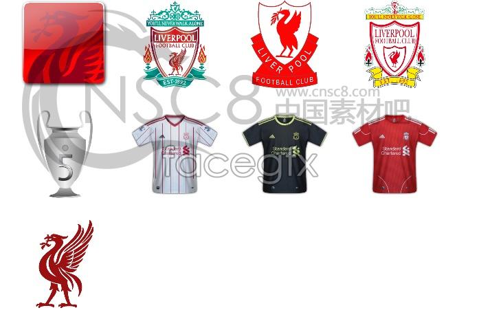 Liverpool team icons