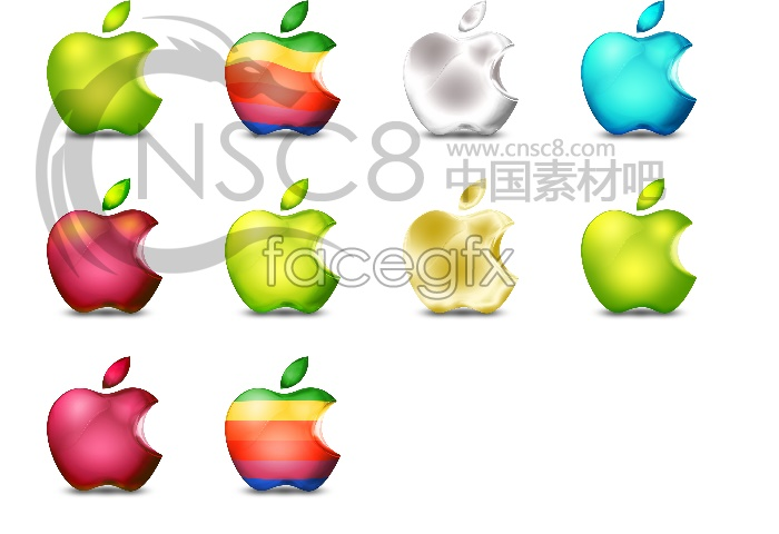Mac Apple icons