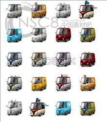 Bus the desktop icons