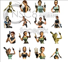 Tomb Raider game icons