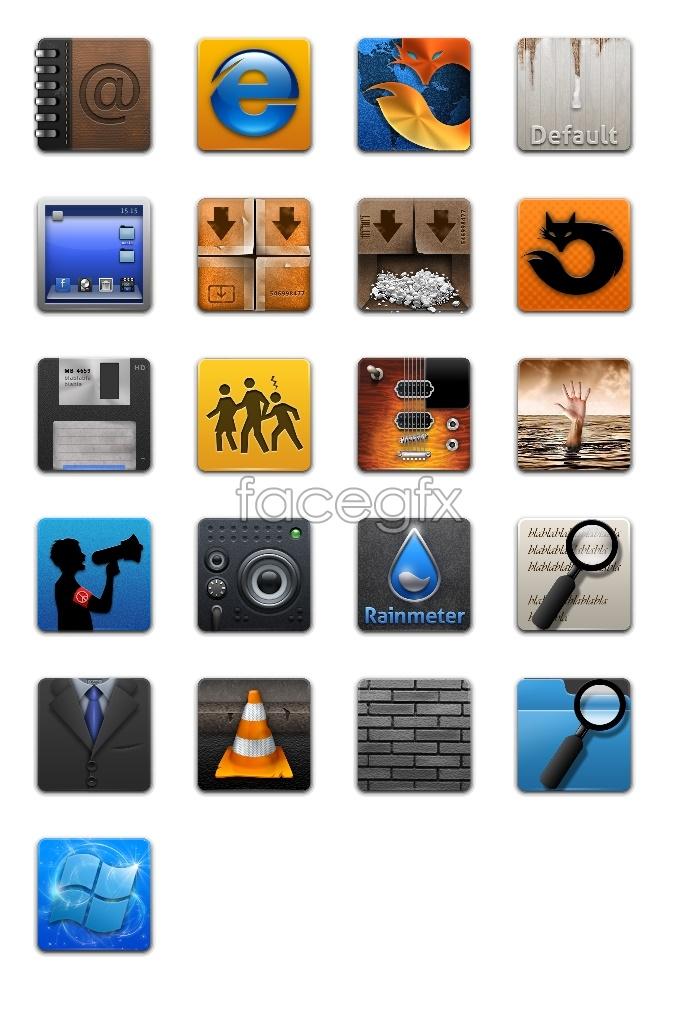 Windows desktop icons