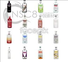 Vodka Wine icons