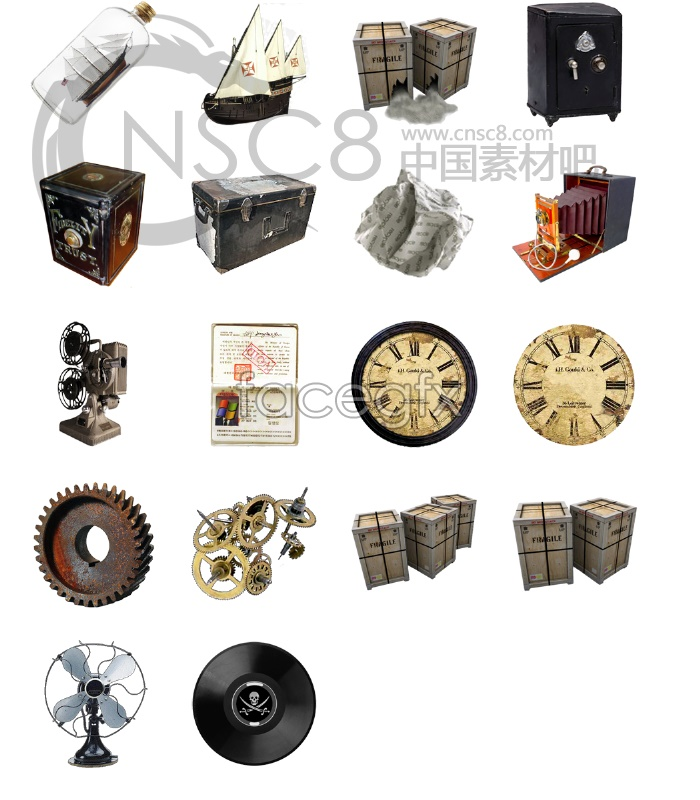 Classical mechanical icons