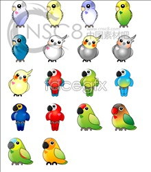 Budgie icons