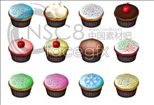 Special cake icons