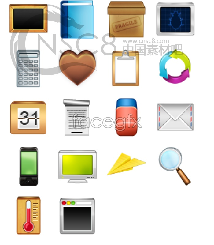 Mobile phone application icon