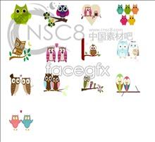 Cute OWL icons