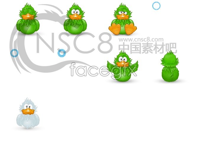 Donald Duck icons