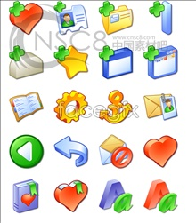Cross series file icon