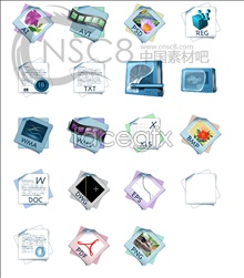 System files, desktop icons