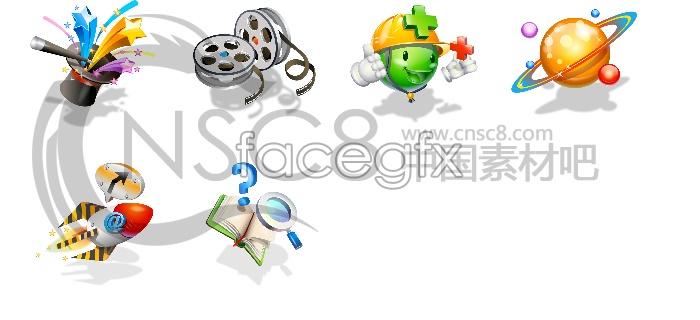 Korea technology desktop icons