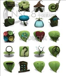 The secret garden icons