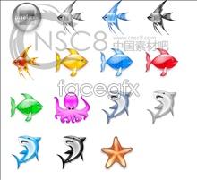 Tropical fish Crystal icon