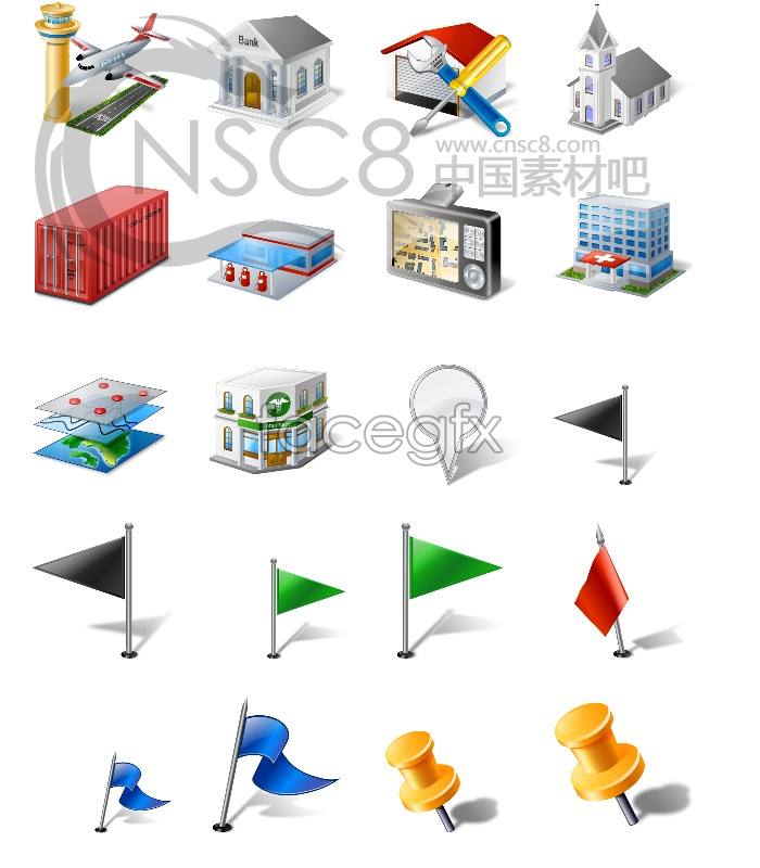 Information system desktop icons
