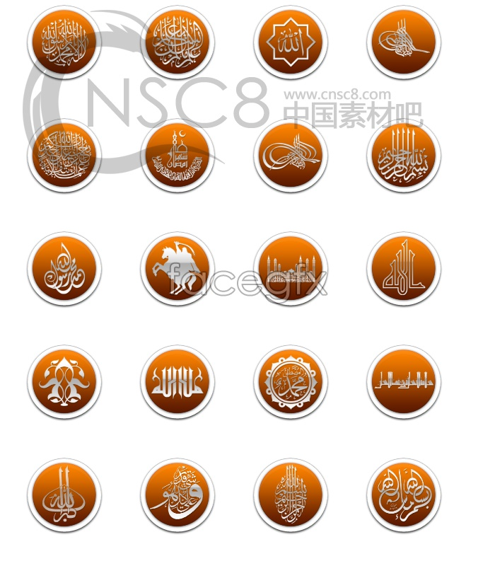 Personality pattern icons