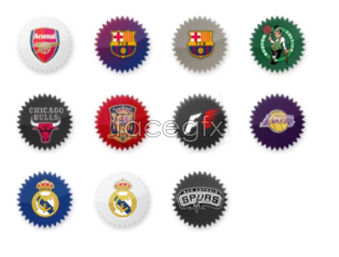 Sports Club small icons