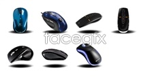 Mouse designed desktop icons