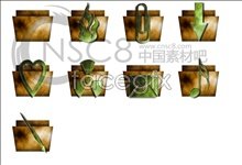 Classical folder icons