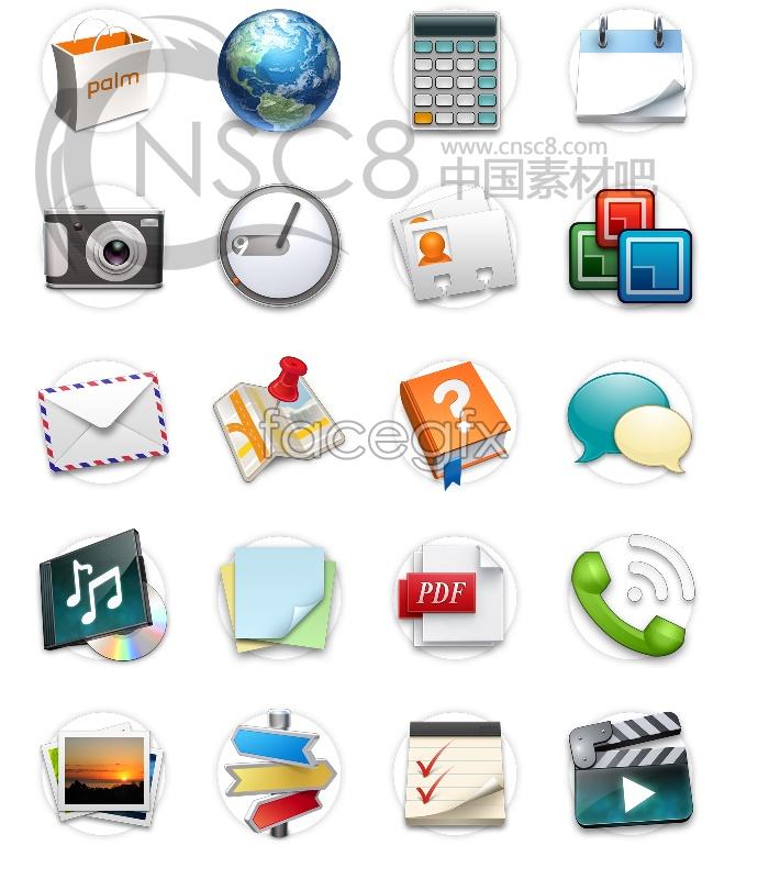 Download Palm Desktop icon texture