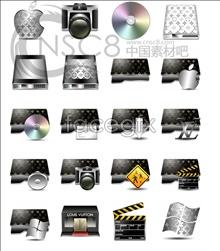 Film color folder icons