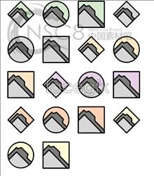 One corner of the folder series