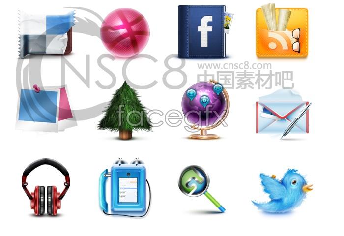 Design of MSN desktop icon