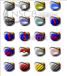 3D folders desktop icons
