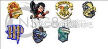 Harry Potter information icons