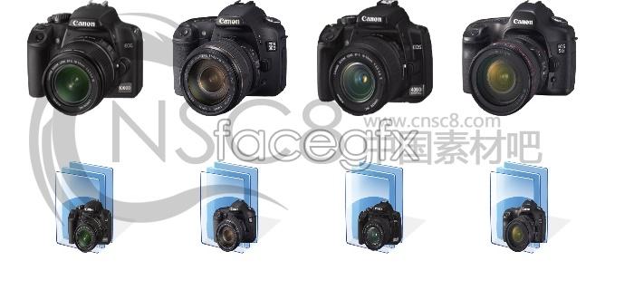Canon digital camera icon