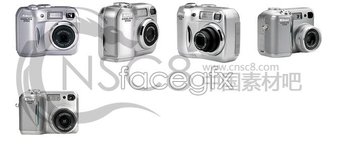 Silver fuselage camera icon