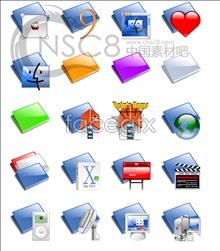Crystal fringe folder icon