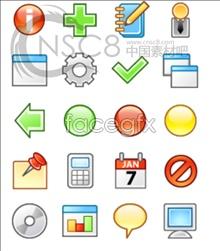 Edge light system icons